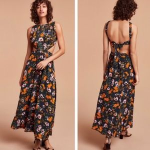 Aritzia Wilfred Floral Pascal Maxi Dress